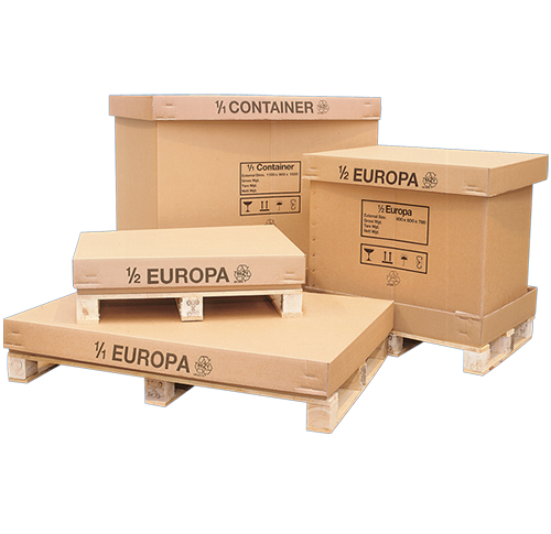 Palletised Containers