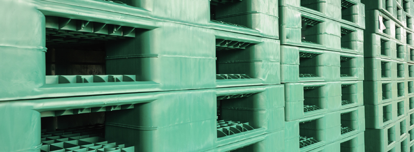 reduce your carbon footprint with plastic pallets