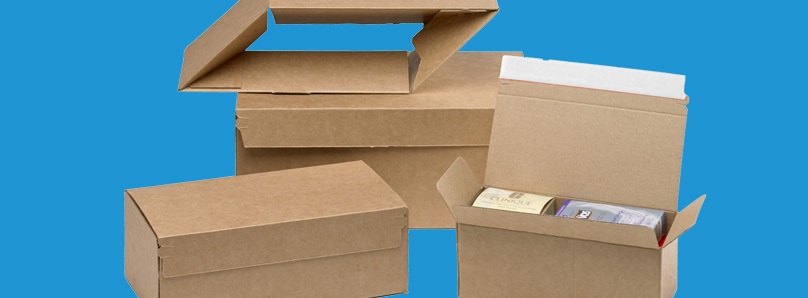 Speed up packing with crash lock boxes